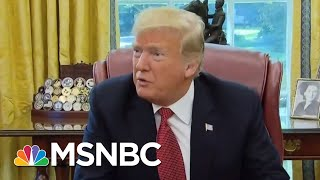 President Donald Trump Flooding The Air Waves With GOP Messaging   Velshi & Ruhle   MSNBC
