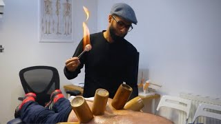 Fire Cupping & Adjustments | Disk Bulges in Lumbar Spine  | Clinical Application of Therapies.