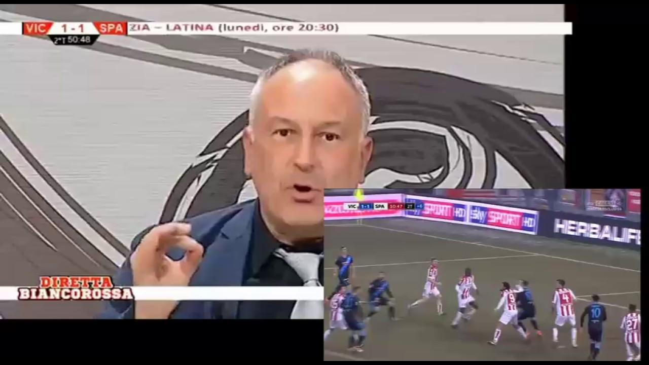 Diretta Biancorossa Mentre La Spal Pareggia Al 96 Con Floccari Youtube