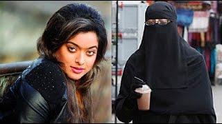 বোরকা পড়ে দোকানে কাজ করছেন জনপ্রিয় নায়িকা সাহারা !! Actress Sahara