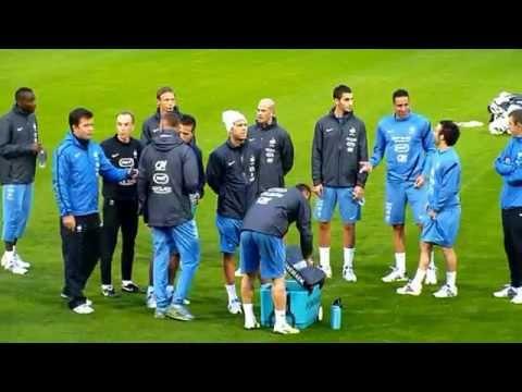 Jérémy Menez ● Karim Benzema ● Mathieu Valbuena ● Clairefontaine
