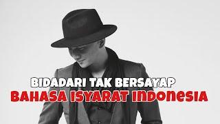 ANJI - BIDADARI TAK BERSAYAP Cover BISINDOBahasa Isyarat Indonesia