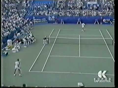 レンドル - ビランデル 全米オープン 1987 決勝戦(ファイナル)  - Set 4 pt 1