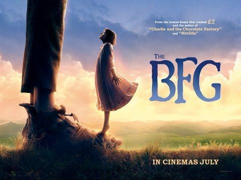 "BFG ""The Big Friendly Giant"" Movie By Disney & Steven Spielberg"