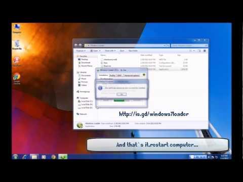 Windows 7 Loader Activator - work 100%