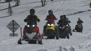 Mirror Lake Highway - Low Mountain Arizona - 2018 Ski-Doo Summit Review - Salt Creek WFMA