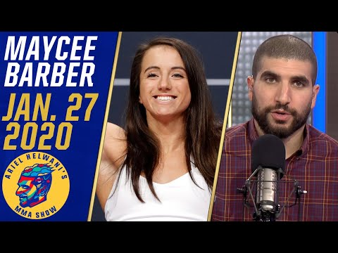 Maycee Barber opens up on ACL injury, road to recovery | Ariel Helwani's MMA Show