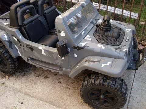 Amazing Power Wheels Transformation
