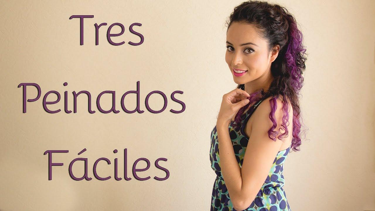 Buscas peinados sencillos para hacerte t misma este es t sitio los mejores peinados para - Peinados para hacerse una misma ...