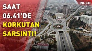 Elazığ'da 4,3 şiddetinde bir deprem meydana geldi!