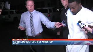 Capital murder suspect arrested for shooting a pregnant woman - NBC 15 WPMI
