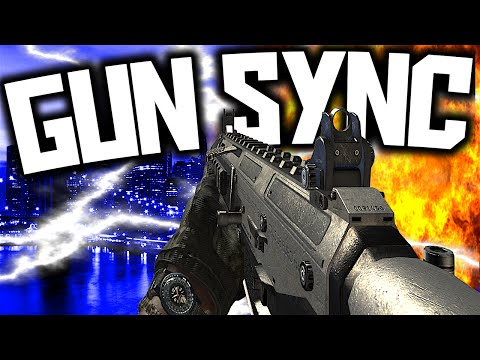 EPIC CALL OF DUTY GUN SYNC!
