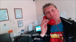 Pirate talks to the PPI Scammers...