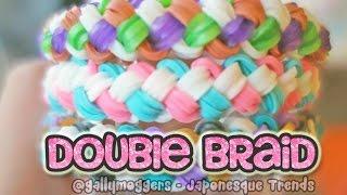 Rainbow Loom Tutorial: Double Braid Bracelet with One Loom