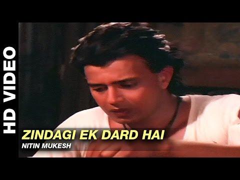 Zindagi Ek Dard Hai - Parivaar   Nitin Mukesh   Mithun Chakraborty & Meenakshi Sheshadri