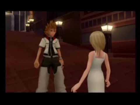 Kingdom Hearts II - Namine and Roxas Meet in Twilight Town (...