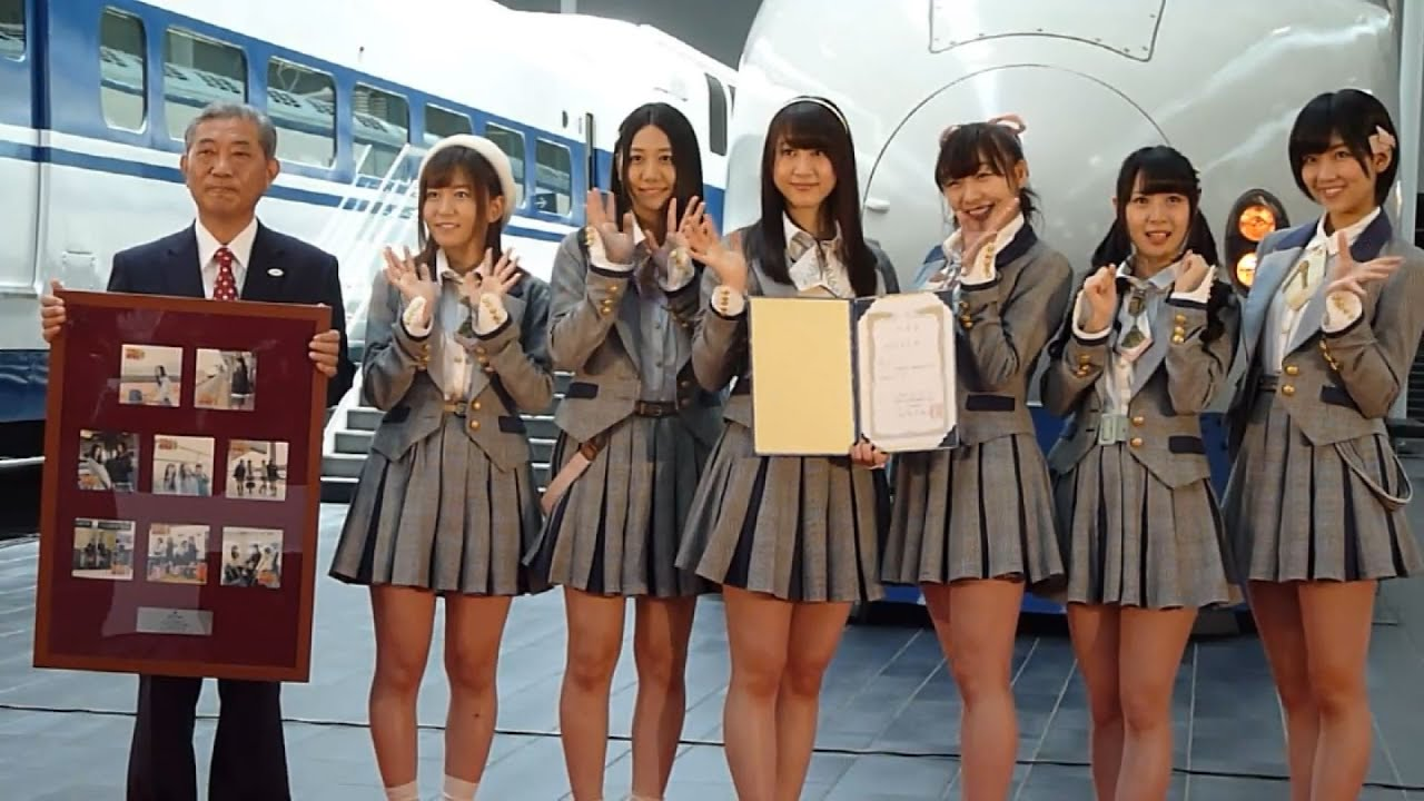 KyodoNews SKE48のなるほどトレイン ~リニア・鉄道館へ行こう!~150911