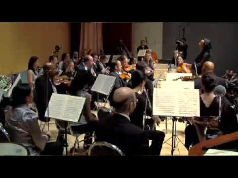 Beethoven Symph #8, 2nd Mvt - Black Pearl Chamber Orchestra