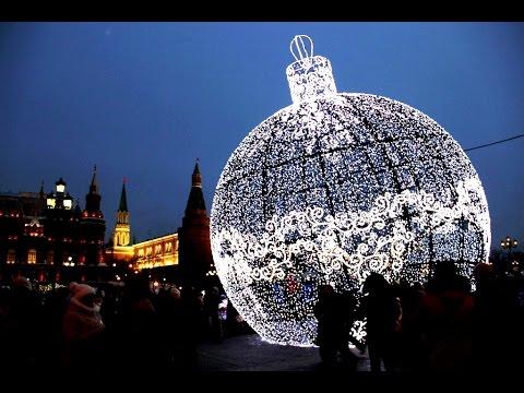 Новогодняя Москва. Рождественские базары в Москве
