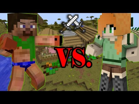 Sister VS Brother - Minecraft | How to turn a Noob into a Pro?