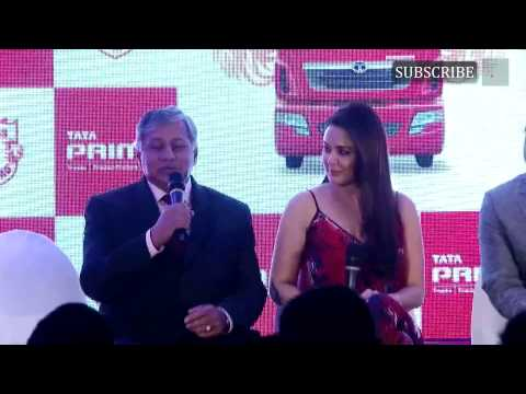 Preity Zinta At Press Conference & Unveiling Jersey Of Kings XI Punjab For IPL Season 8 | Part 1
