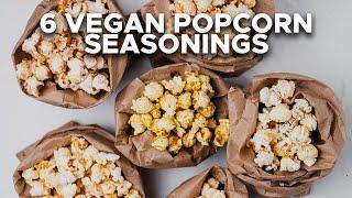 6 Easy Vegan Popcorn Seasonings | Two Market Girls