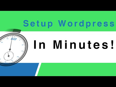 Wordpress Tutorial 2015: Get Up And Running In Minutes