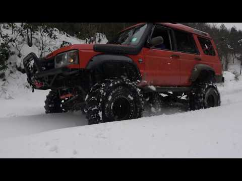 Land Rover Discovery TD5 - JIF - Extreme Snow Off Road - Soğucak 2020 4K UHD