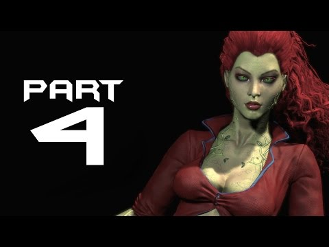 Batman Arkham City Walkthrough Part 4 - POISON IVY