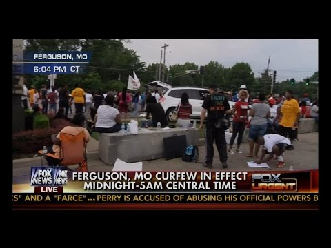 Ferguson, MO Curfew Imposed 12am - 5am Protesters Vow To DEFY It!