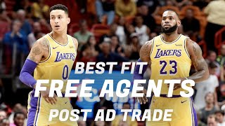 THE BEST LAKERS ROSTER POSSIBLE POST AD TRADE!!!