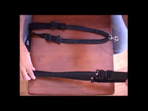 The Paracord Weaver: Single Point Tactical Gun Sling - Protoytpe