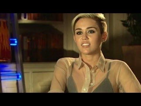 Miley Cyrus Kills Hanna Montana Officially - Talks About Her MTV VMA 2013 Performance