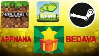 BEDAVA MİNECRAFT STEAM KODU VE DAHASI - APPNANA