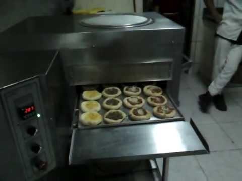 Forno de esteira para pizza usado