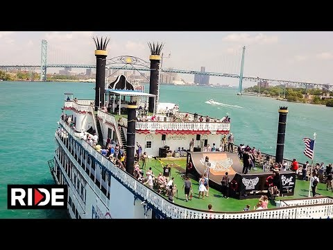 Floating Halfpipe presented by As Detroits Own