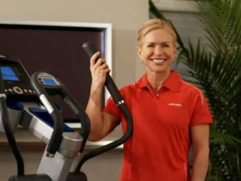 elliptical incline power with trainer