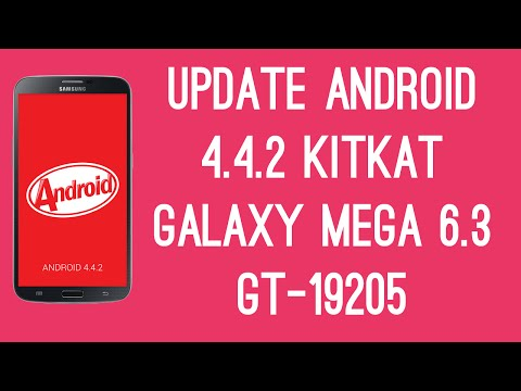 How To Update Galaxy Mega 6.3 GT-I9205 to Android 4.4.2 Kitkat