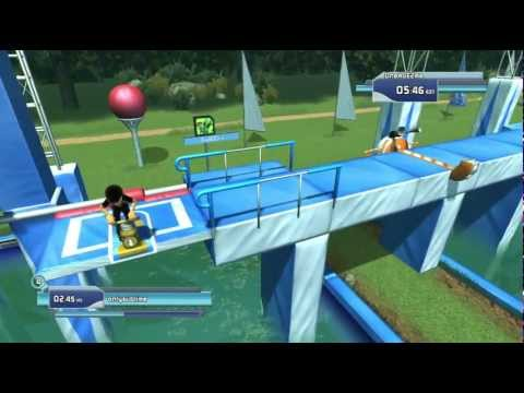 Wipeout in the Zone episode 4 Xbox 360 Kinect 720P gameplay