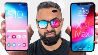 Samsung Galaxy S10 Plus vs iPhone XS Max