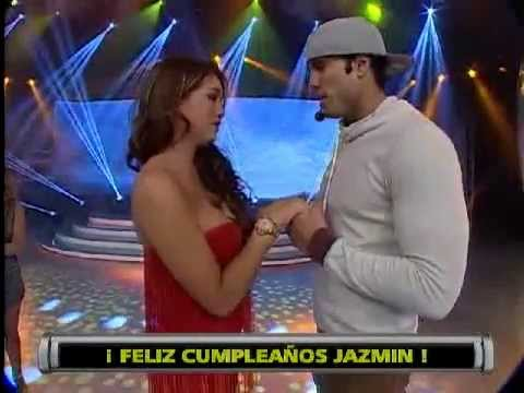 Esto es Guerra: Gino Assereto sorprende a Jazmín por su cumpleaños - 19/08/2013