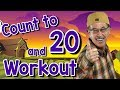 Count to 20 and Workout   Fun Counting Song for Kids   Count by 1's to 20   Jack Hartmann mp3 indir