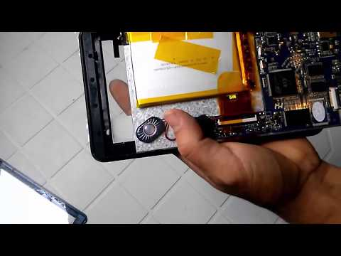 Conserto de Tablet Trocando a Tela de Toque do Tablet Multilaser M7