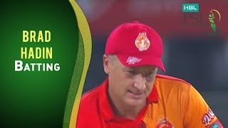 HBL PSL Final - Islamabad United vs Quetta Gladiators - Brad Haddin Batting