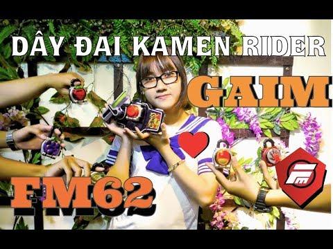 FM62 Season 2 - Nữ sinh cute biến hình cùng nhện mụp - KAMEN RIDER GAIM   fmshop
