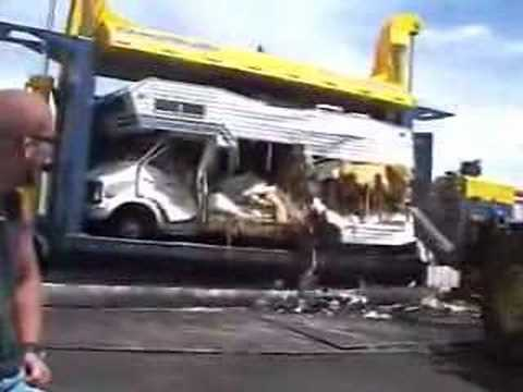 Crushing an RV