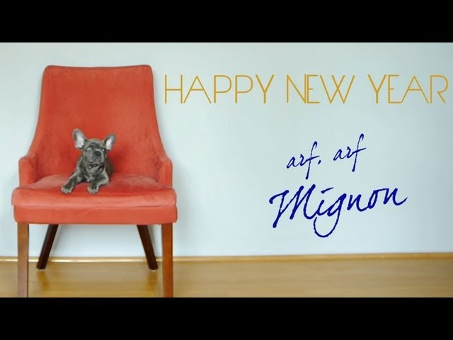 A Message from Mignon...