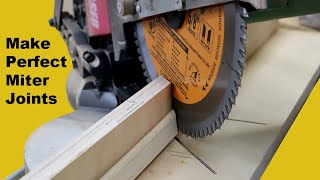 Miter Joint Pro Tip: Simple Trick for Perfect Miters by Jon Peters