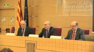 Presentació de l'acte commemoratiu del Dia Europeu de la Mediació