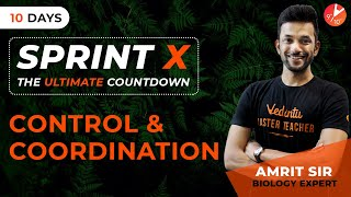 Control and Coordination Class 10 Science Biology | CBSE Board Exam 2019 | Sprint X - Day 2